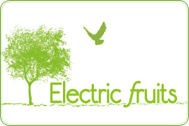 Electric fruits ロゴ