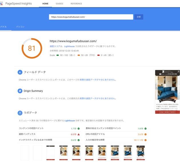 Google Speed inside